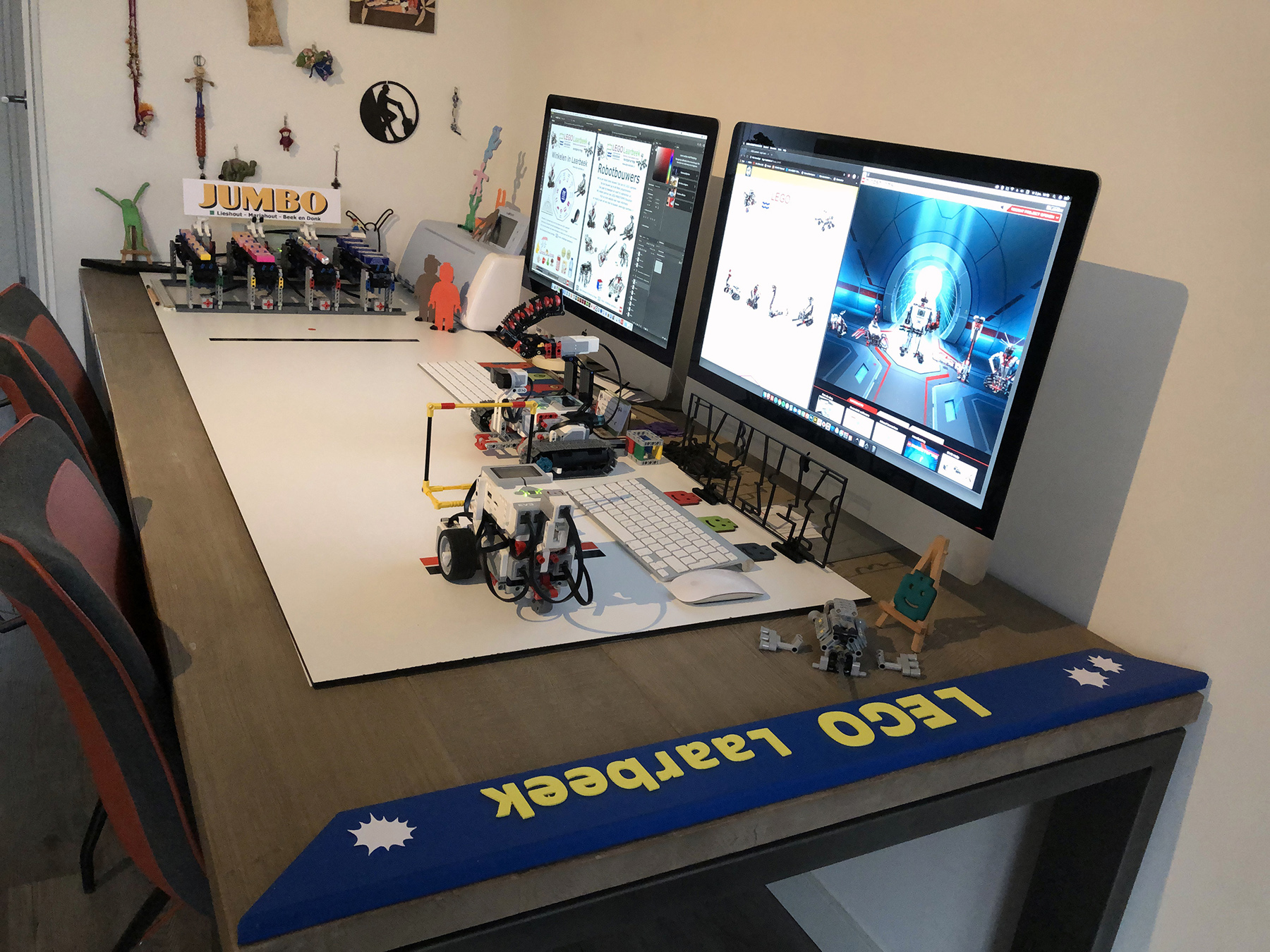 Werktafel LEGO Laarbeek