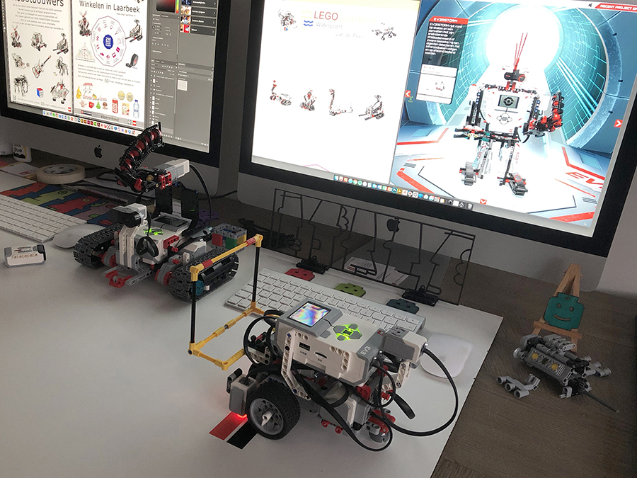 Tankbot Donk en de Educator - LEGO Laarbeek